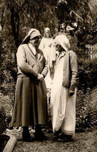 Madre Igilda con Madre Teresa