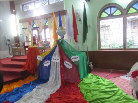 La Giornata Missionaria Mondiale a Siliguri, India!
