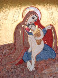 maria - cappella Monza Rupnik
