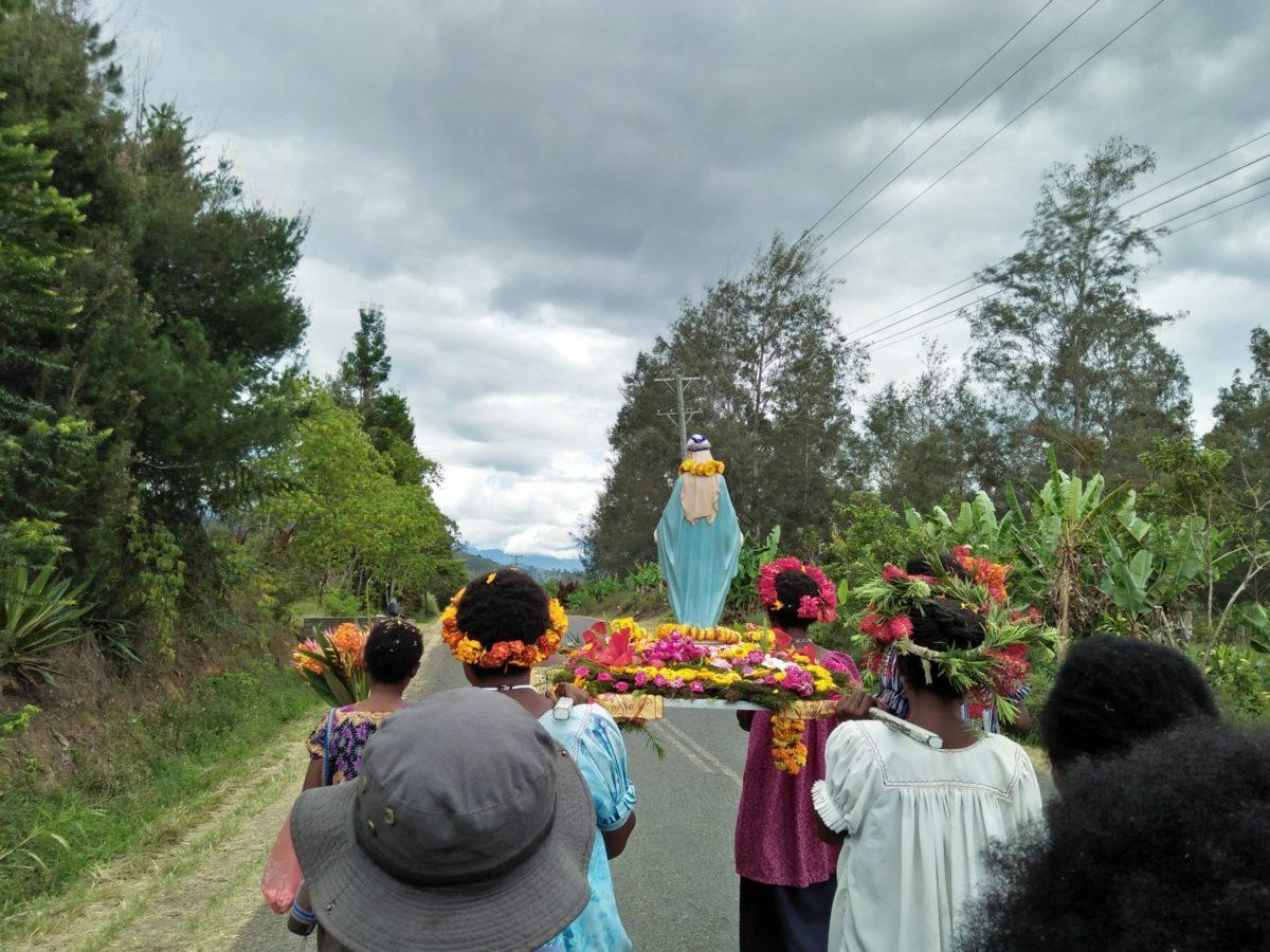 La Madonna di Fatima a Mount Hagen-PNG