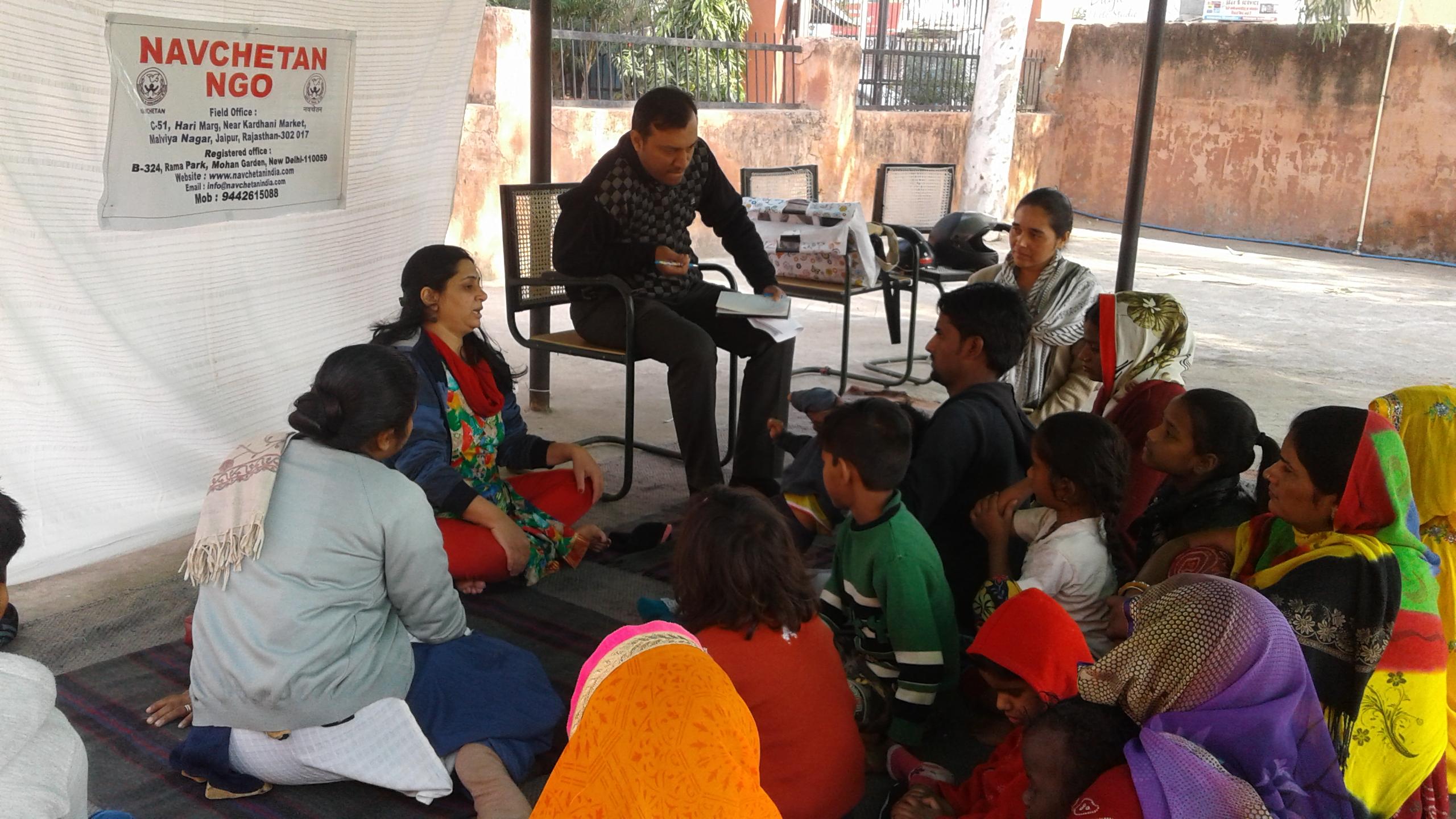 """A comunidade de Navchetan, Índia """"Uma nova estratégia"""""""