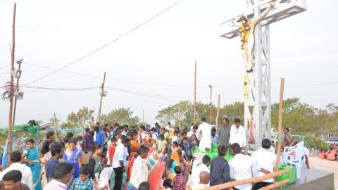 Gunadala Matha Feast, Vijayawada, India