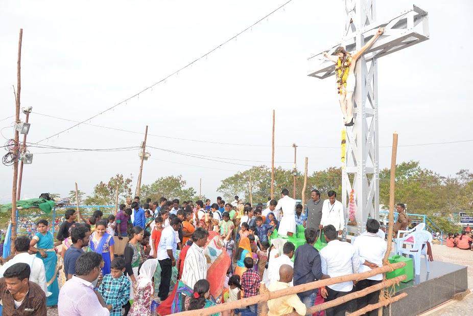 Gunadala Feast a Vijayawada, India