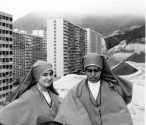 Sr. Maddalena and sr. Theresa in Hong Kong