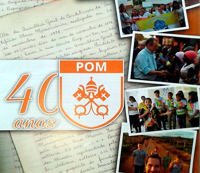 POM: 40 anni di fondazione in Brasile