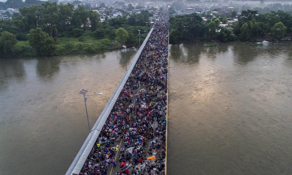 La Carovana dei Migranti