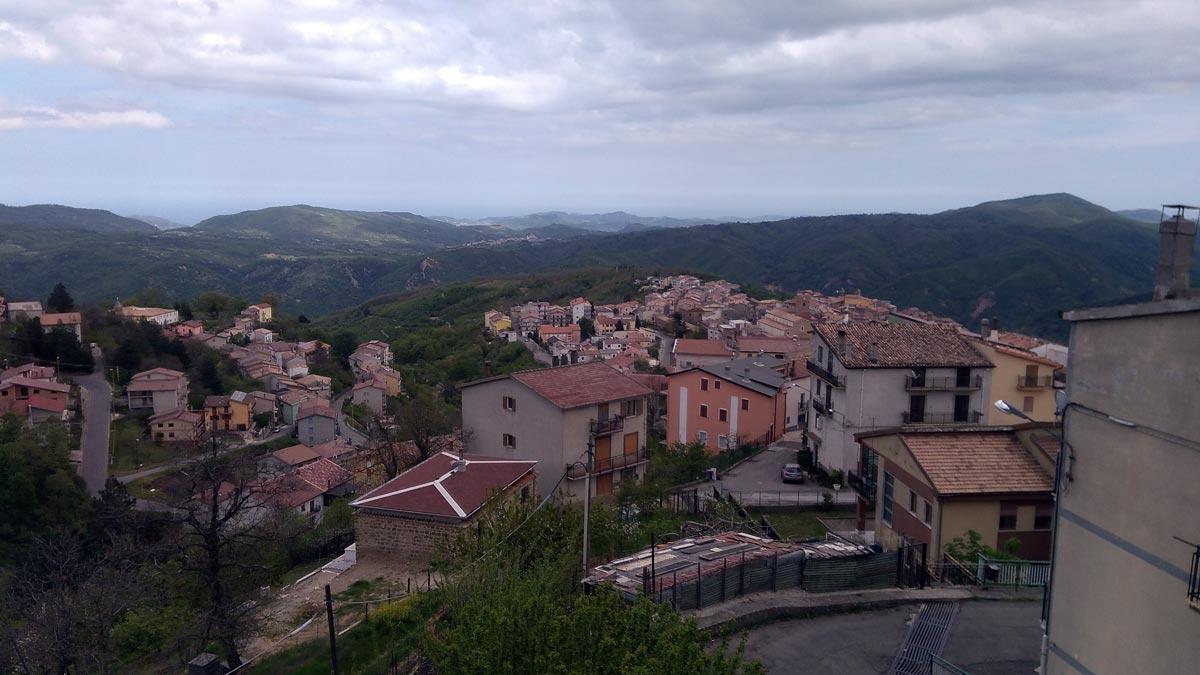 Mission in Sila, Calabria…