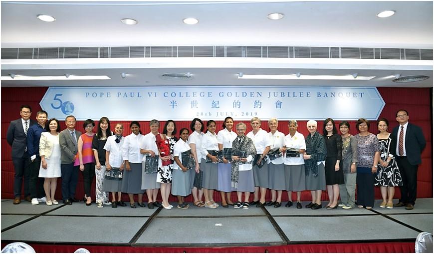 50 anni di presenza a Hong Kong