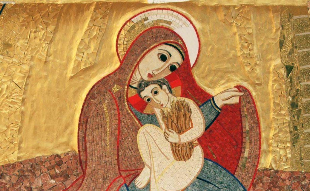 maria - mosaico di Rupnik a Monza