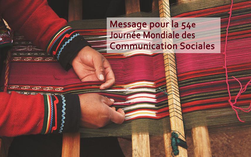54e Journée mondiale des communications sociales