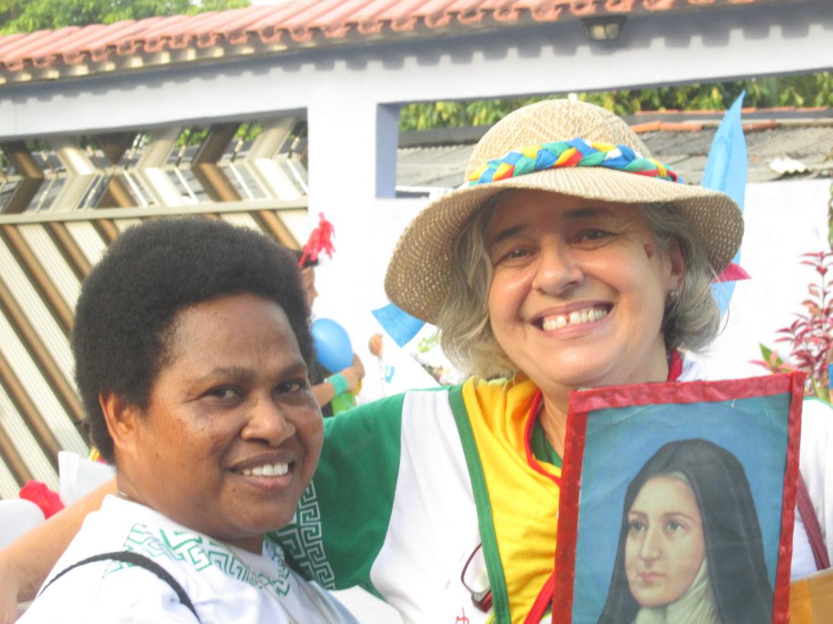 Experiências missionárias: encontros, palavras de consolo, paz, amor e esperança