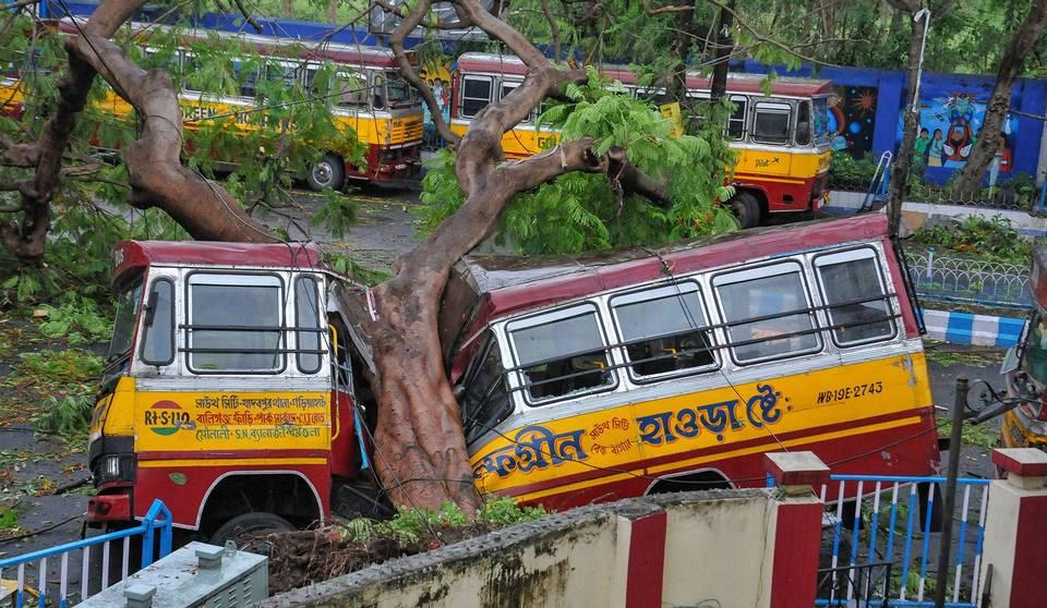 Dangerous climate change- cyclone Amphan