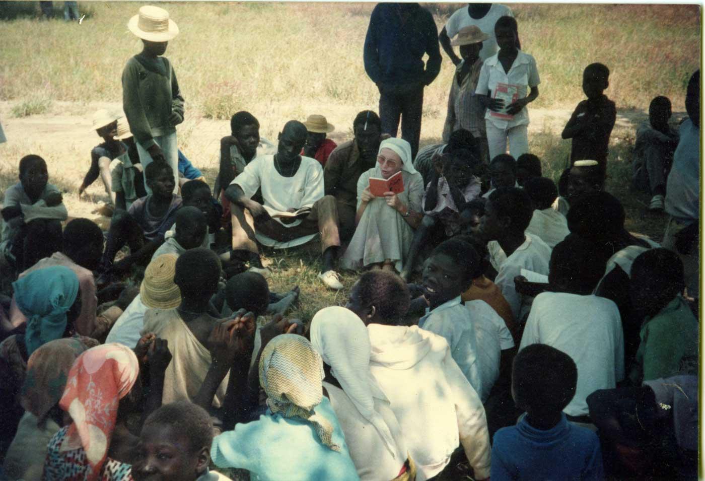 1986, Padermé – Cameroon