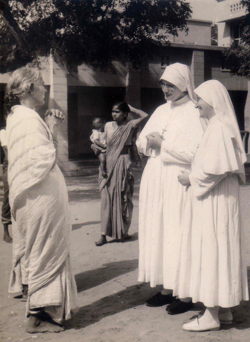 Madre Igilda in visita in India